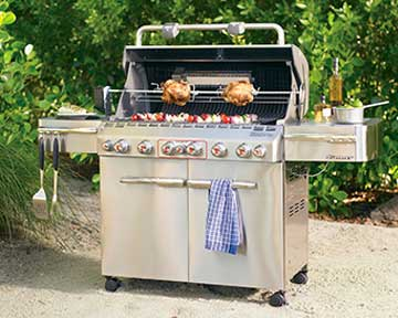 BBQ grill repair in Alameda County by BBQ Repair Doctor.