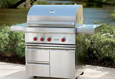 BBQ grill repair in Piedmont by BBQ Repair Doctor.