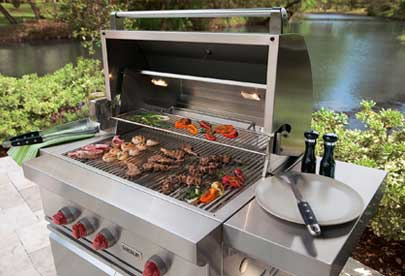BBQ grill repair in Pleasanton by BBQ Repair Doctor.