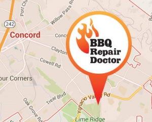 BBQ repair in Concord