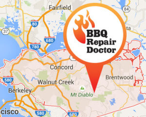 BBQ repair in Contra Costa