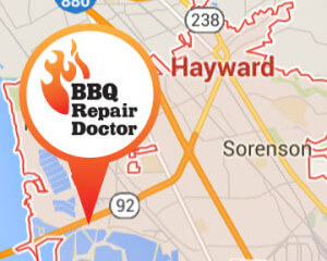 BBQ repair in Hayward