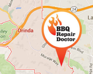 BBQ repair in Orinda