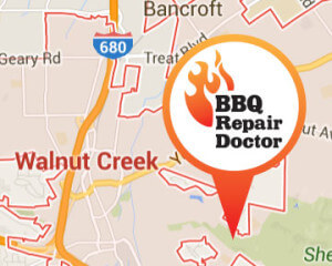 BBQ repair in Walnut Creek