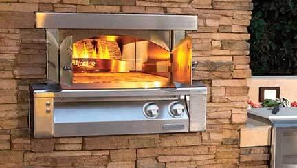 Alfresco Pizza Oven Repair by BBQ Repair Doctor.
