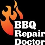 BBQ Repair Doctor Logo on black