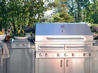 Barbecue repair in Larchmont by BBQ Repair Doctor.