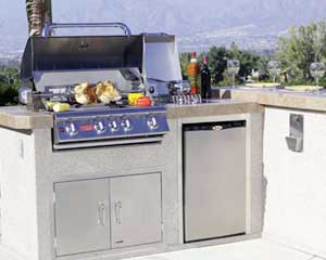 BBQ cleaning in Santa Clara County by BBQ Repair Doctors.