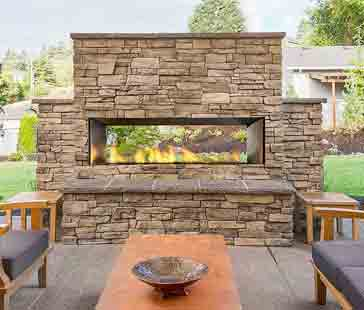 Backyard Fireplace Installation Specialists In Your Area