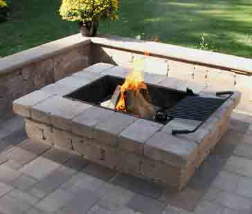 Fire pit builder is the best.