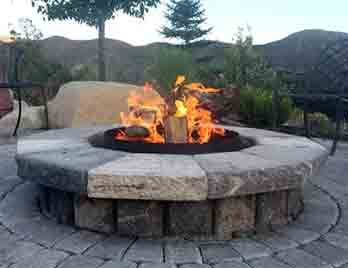Fire pit builder is what we do.