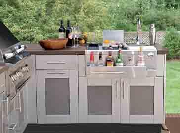 Outdoor kitchen Installation amazing.