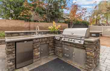 Outdoor kitchen designs is what we do.